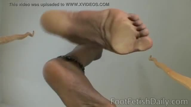 Monica Foster Soles On Glass