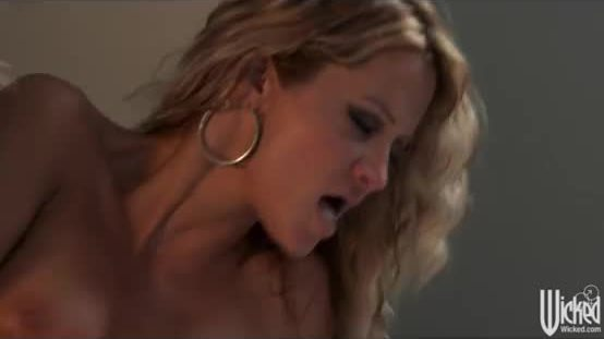 Stunning blonde mistress Jessica Drake fucks a married man