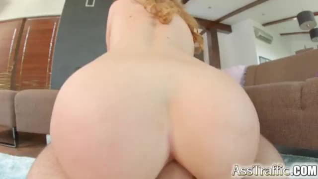 Ass Traffic sexy girl swallows cum after anal fucking